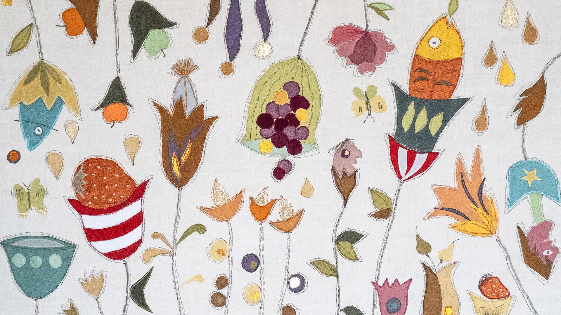 Stoffart Gertraud Neuhaus – textile Kunstwerke, Gedichte und Märchen